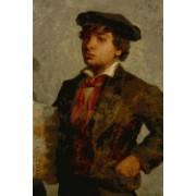 Newspaper Boy (Edward Mitchell Bannister) for the Love of Art: Blank 150 Page Lined Journal for Your Thoughts, Ideas, and Inspiration