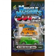 Muscle Machines 40 Ford Delivery Sedan green 02-20