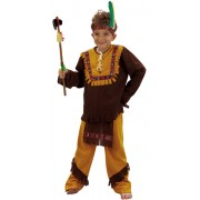 Déguisement apache Garçon 7-9 ans