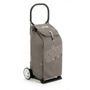 Gimi Italo húzós bevásárlókocsi barna - 145063