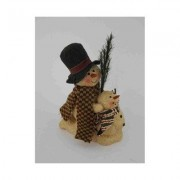 Craft Outlet Papier Mache Snowman 31380