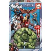 EDUCA 15933 Puzzle Cardboard Avengers 200 bucăţi 40*28 cm