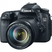 Canon EOS 70D + EF18-135 IS BLACK EUROPA