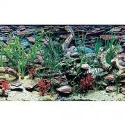 PENN PLAX Pozadí oboustr. 50cm/15m Aquarama/Shalescape