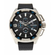 Diesel DZ4392 Silver-Tone Black Watch 6