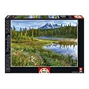 Educa 16309 Jigsaw Puzzle 1500 Pieces - Mount Rainier National Park USA