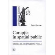 Coruptia in spatiul public - Dorin Ciuncan