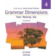 Grammar Dimensions 4 by Diane Larsen-Freeman