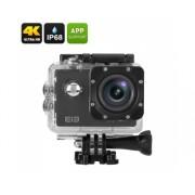 Elephone ELE Explorateur 4K Action Camera - capteur 16MP, 170 Degree View, 2 pouces, IP68 Case, Wi-Fi (Noir)