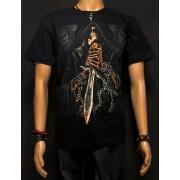 Koszulka świecąca w ciemności marki Rock Eagle - ANIOŁ ŚMIERCI