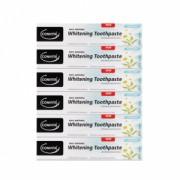 Set promotional - 6 buc Pasta de dinti pentru albire cu bicarbonat de sodiu, fara fluor Comvita