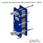 Schimbator de caldura in placi Alfa Laval M3-FG 33 PL - 240 kW