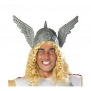 casco de barbaro con alas adulto | casco vikingo