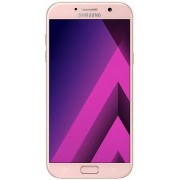 "Telefon Mobil Samsung Galaxy A7 (2017), Procesor Octa-Core 1.9GHz, Super AMOLED Capacitive touchscreen 5.7"", 3GB RAM, 32GB Flash, 16MP, 4G, Wi-Fi, Dual Sim, Android (Roz)"