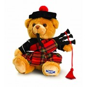 Keel Toys 19cm Scottish Piper Hug Me Bear