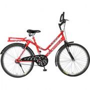Hero Stitch 26T Single Speed Mountain Bike - Red
