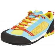 La Sportiva Scratch But podejściowy Kobiety żółty/niebieski Buty podejściowe