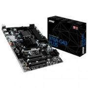 Motherboard 970A-G43 Plus (970/AM3+/DDR3)