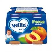 Mellin Nettari - Pesca - Confezione da 500 ml ℮ (4 bottiglie x 125 ml)