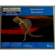 Puzzled Spinosaurus Wooden 3D Puzzle Construction Kit