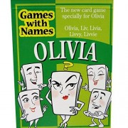 OLIVIAS GAME: The fun packed new stocking stuffer for people called Olivia, Liv, Livia, Livvy or Liv