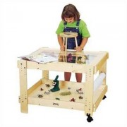 Jonti-Craft Creative Caddie Discovery Table with Bins 58509JC Size: 55