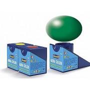 Revell Acrylics (Aqua) - 18ml - Aqua Leaf Green Silk - RV36364