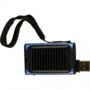 Powerplus Beetle Cargador solar (USB, indicador LED), color negro