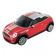 Masinuta Bluetooth BeeWi Mini Cooper S Coupe compatibila iOS - Red