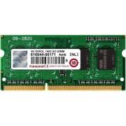 Memorie laptop Transcend 4GB DDR3 1600 MHz CL11