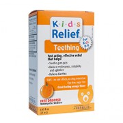 KIDS TEETHING ORAL SOLUTION (Orange Flavour) (0.85oz) 25ml