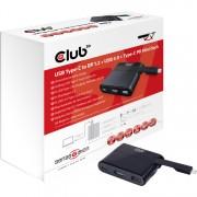 USB type-C - DP + USB 3.0 + type-C Mini Dock