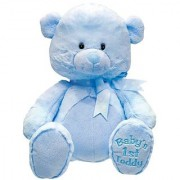 My First Lullaby Blue Teddy 10 by Cuddle Barn