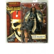 POTC Drunk Jack Sparrow Figure (Johnny Depp) series 3 Pirates of the Caribbean movie by NECA