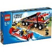 LEGO City Set #7213 OffRoad Fire Truck & Fireboat
