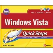 Windows Vista QuickSteps by Marty Matthews