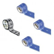 3 rolls Blue Classic Road Toy Car Play Tape with 1 roll Classic Railroad Play Tape