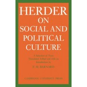 J.G. Herder on Social and Political Culture by Johann Gottfried Herder