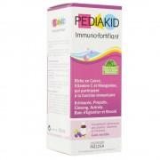 pediakid immuno fortifiant sirop goût myrtille 125 ml