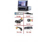 """7"""" HD Érintőkijelzős Autós DVD fejegység beépített GPS vevővel + Vezeték nélküli tolatókamera szett"""