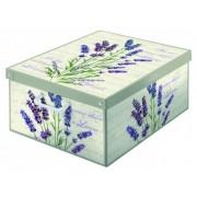 Illatosított színes tároló doboz Collection Midi Lavanda 661 LA