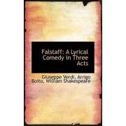 Falstaff by Arrigo Boito William Shakespeare Verdi
