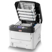 Imprimanta laser color OKI C712dn, A4, 34 ppm, Duplex, Retea