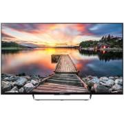 Televizor LED Sony KDL-43W808C, Full HD, smart, android, 1000 Hz, USB, HDMI, 43 inch, DVB-T2/C/S2, argintiu