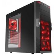 Sharkoon T9 Value Red - Midi-Tower Black