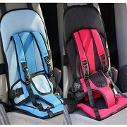 Multi-function Adjustable Baby Car Cushion Seat with Safety Belt - For Babies & Toddlers