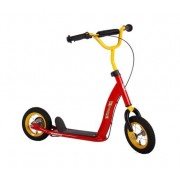 Volare Autoped 10 Inch Junior Trommelrem Rood/Geel