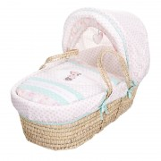 Obaby Disney Minnie Mouse Moses Basket - Love Minnie