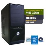 Computador Intel Core I5-4460- LGA-1150, H81M-CS/BR, 4GB DDR3, HD 1TB, Windows 7 Pro