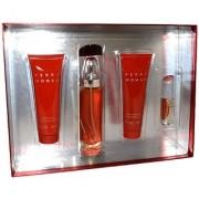 Perry Ellis Perry Women Gift Set (Eau De Parfum Spray Bath and Shower Gel Body Lotion Eau De Parfum Spray)